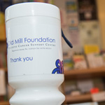 old mill foundation charity box